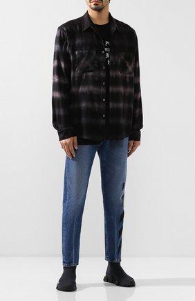 Мужские текстильные кроссовки speed BALENCIAGA темно-серого цвета, арт. 585009/W05G0 | Фото 2