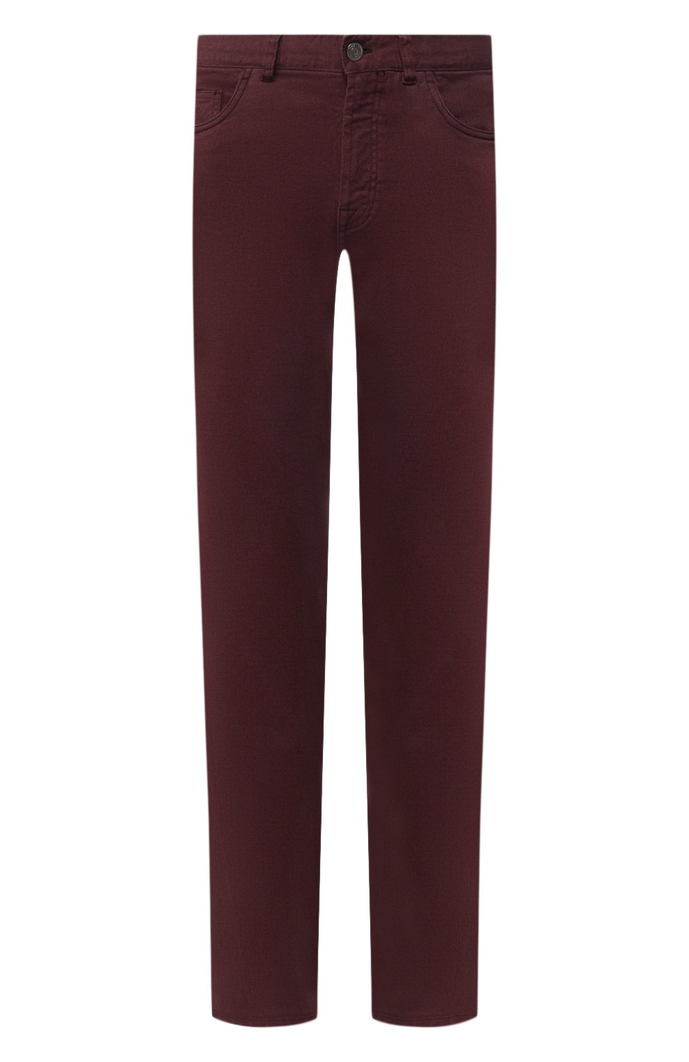 Мужские джинсы BRIONI бордового цвета, арт. SPNJ0M/08T01/STELVI0   Фото 1