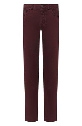 Мужские джинсы BRIONI бордового цвета, арт. SPNJ0M/08T01/STELVI0 | Фото 1