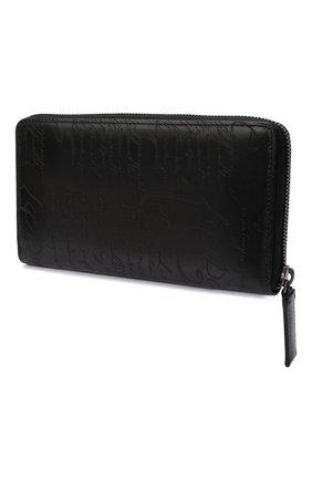 Мужской кожаное портмоне BERLUTI черного цвета, арт. N135274 | Фото 2