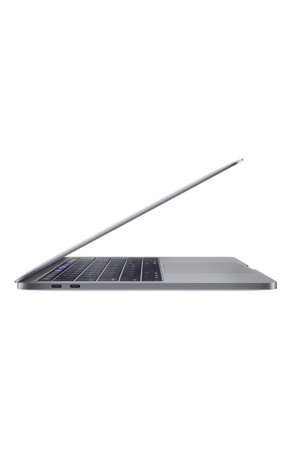 "Мужской macbook pro 13"" touch bar qc i5 1.4ghz 8gb iris645 256gb space gray APPLE  space gray цвета, арт. MUHP2RU/A | Фото 2"