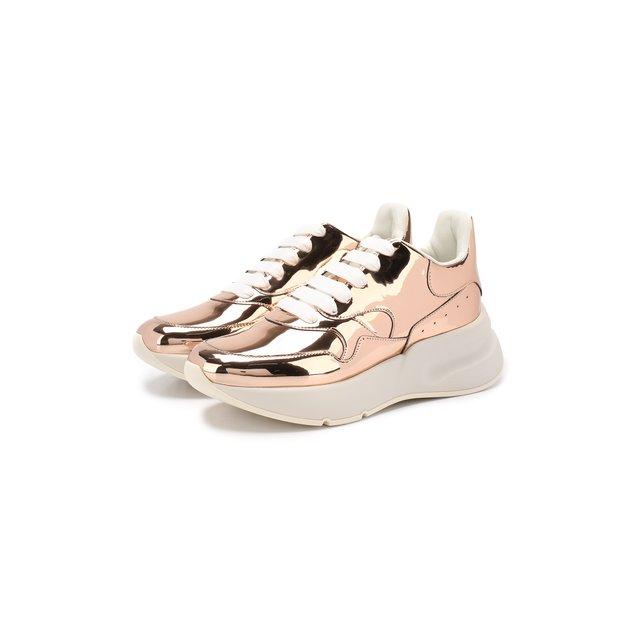 Кожаные кроссовки Alexander McQueen — Кожаные кроссовки