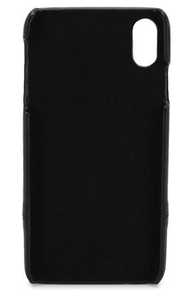 Мужской чехол для iphone xs max VALENTINO черного цвета, арт. SW2P0S59/KZQ | Фото 2