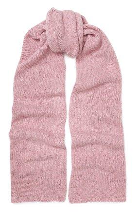Мужские шерстяной шарф JOSEPH розового цвета, арт. JF003343 | Фото 1