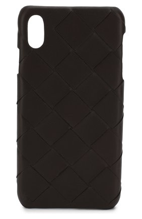 Мужской чехол для iphone xs max BOTTEGA VENETA темно-коричневого цвета, арт. 577750/V00BL | Фото 1