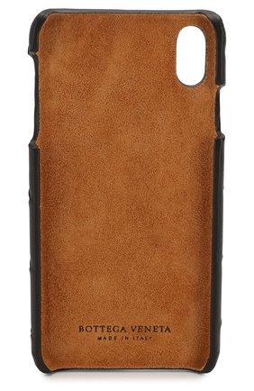 Мужской чехол для iphone xs max BOTTEGA VENETA темно-коричневого цвета, арт. 577750/V00BL | Фото 2