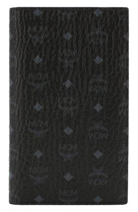Женские обложка для паспорта MCM черного цвета, арт. MYV 8SVI50 | Фото 1