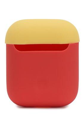 Чехол для airpods ELAGO кораллового цвета, арт. EAPDO-IRO-CBLYE   Фото 1 (Статус проверки: Проверена категория)