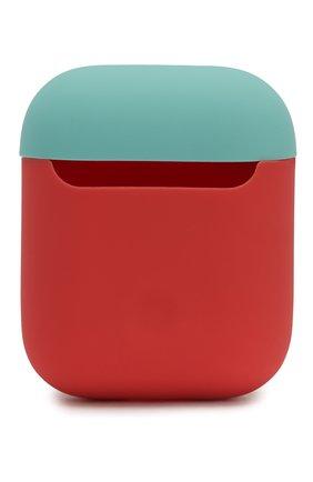 Чехол для airpods ELAGO кораллового цвета, арт. EAPDO-IRO-CBLYE   Фото 2 (Статус проверки: Проверена категория)