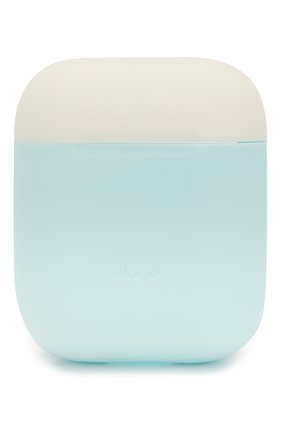 Чехол для airpods ELAGO голубого цвета, арт. EAPDO-PBL-PKWH   Фото 2 (Статус проверки: Проверена категория)