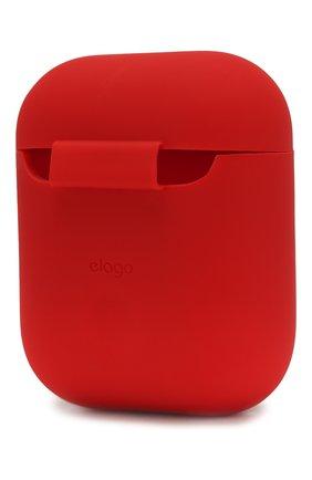Чехол для airpods ELAGO красного цвета, арт. EAPSC-RD   Фото 2 (Статус проверки: Проверена категория)