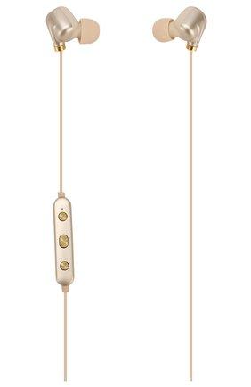 Мужские наушники ear piece ii HAPPY PLUGS золотого цвета, арт. 7614 | Фото 1