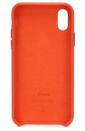 Мужской чехол для iphone x/xs APPLE  оранжевого цвета, арт. MVFQ2ZM/A   Фото 2