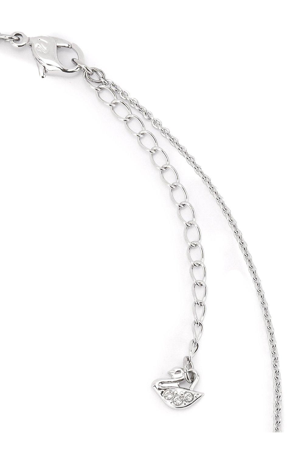 Женская подвеска perfection SWAROVSKI серебряного цвета, арт. 5493103 | Фото 3