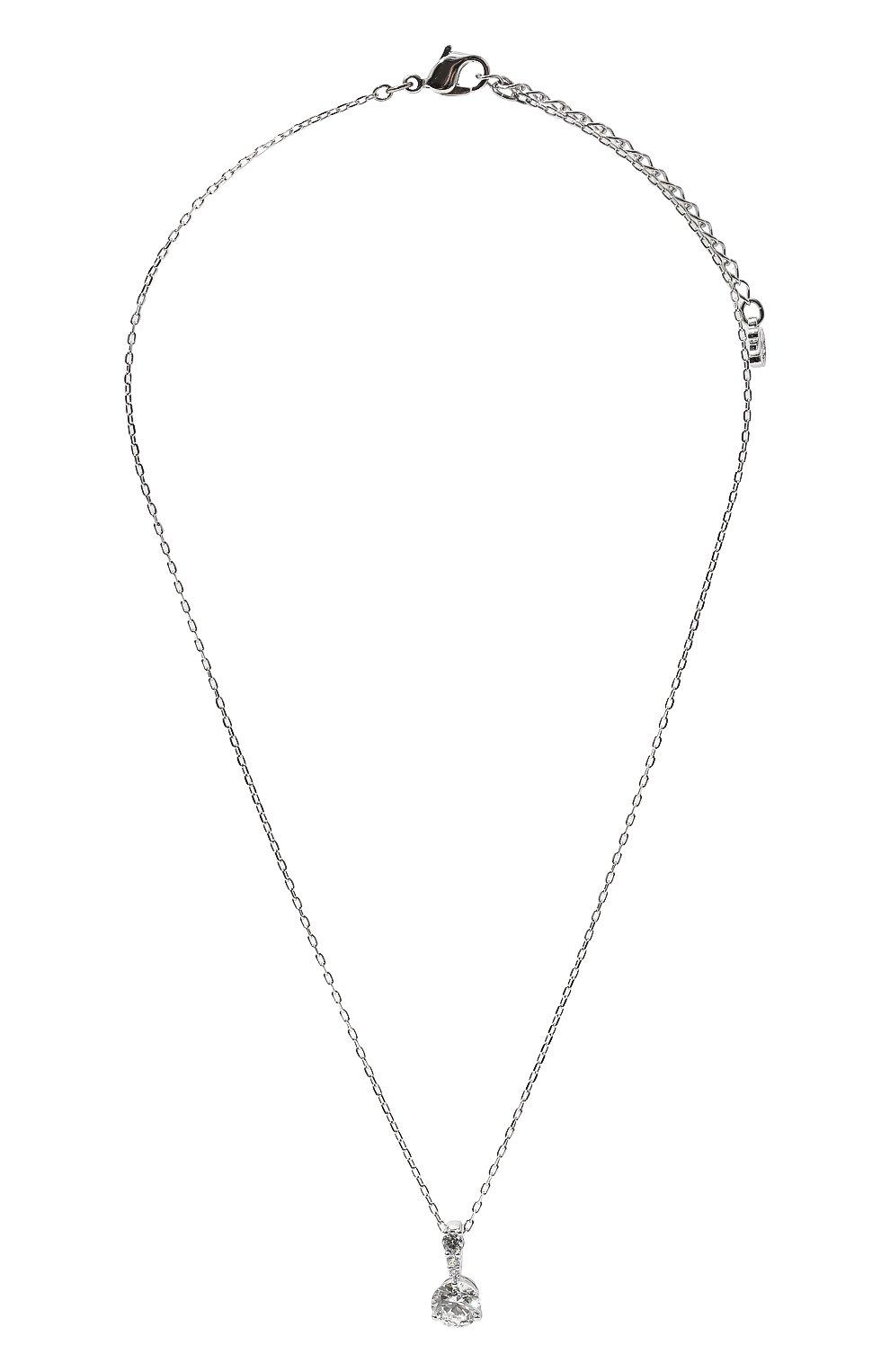 Женская подвеска solitaire SWAROVSKI серебряного цвета, арт. 5472635 | Фото 1