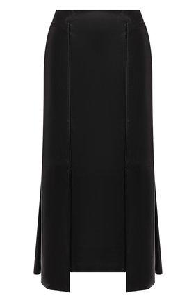 Кожаная юбка   Фото №1