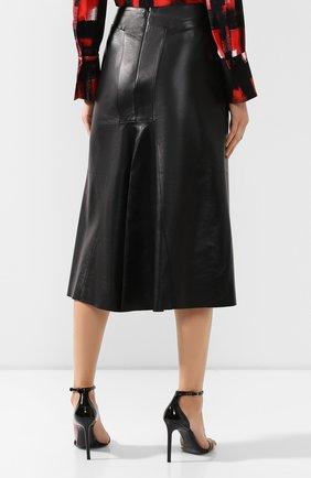 Кожаная юбка   Фото №4