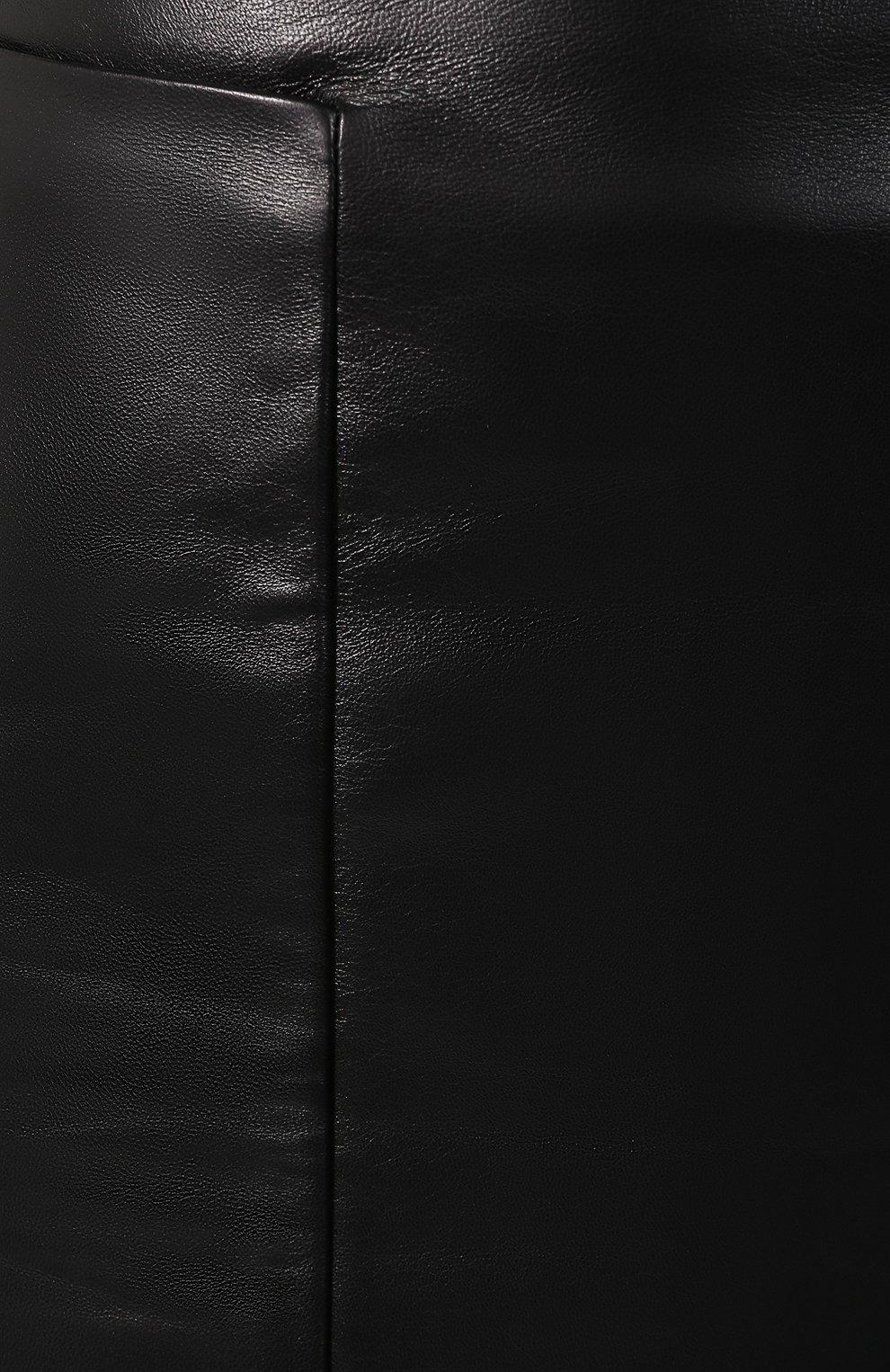 Кожаная юбка   Фото №5
