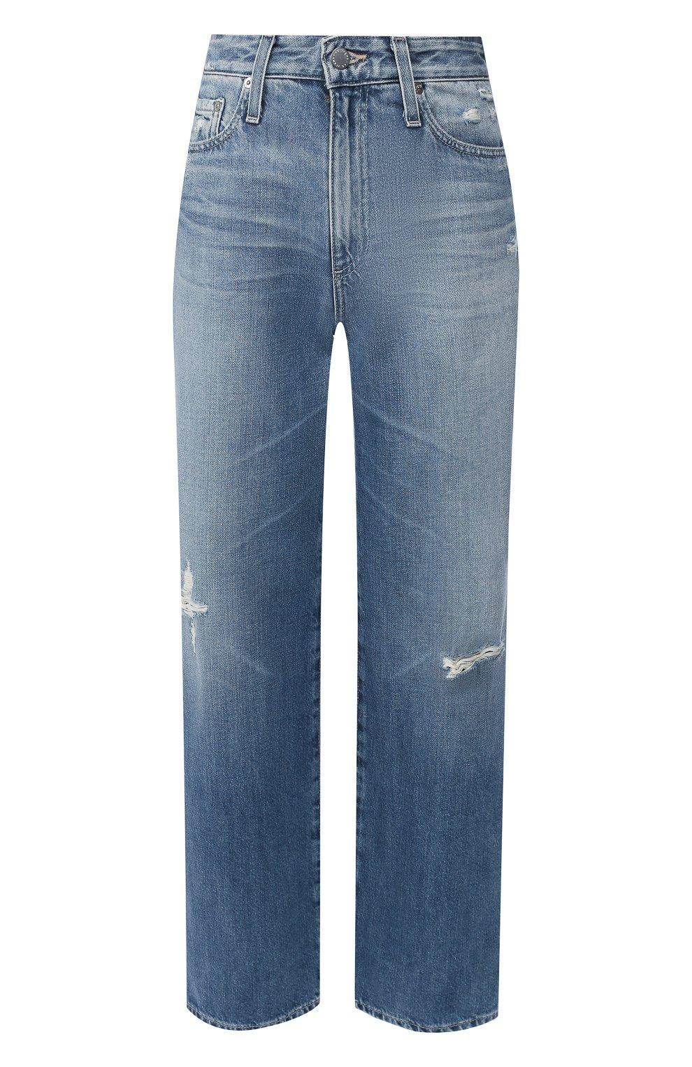 Женские джинсы AG голубого цвета, арт. HRD1899/20YHSU | Фото 1