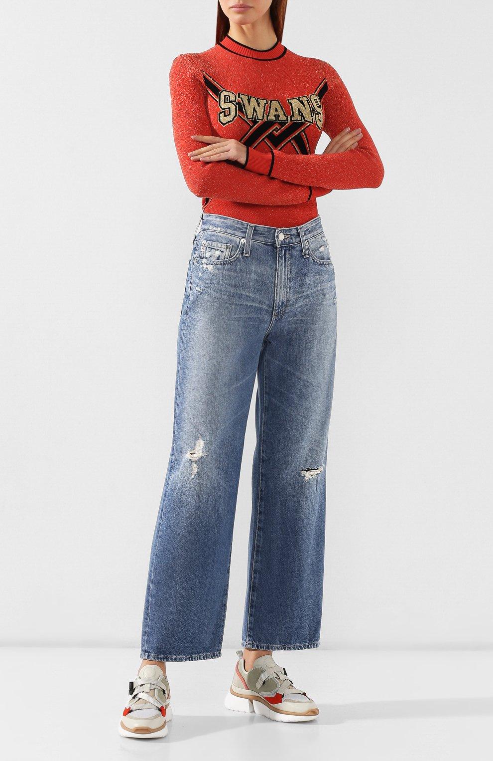 Женские джинсы AG голубого цвета, арт. HRD1899/20YHSU | Фото 2