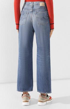 Женские джинсы AG голубого цвета, арт. HRD1899/20YHSU | Фото 4