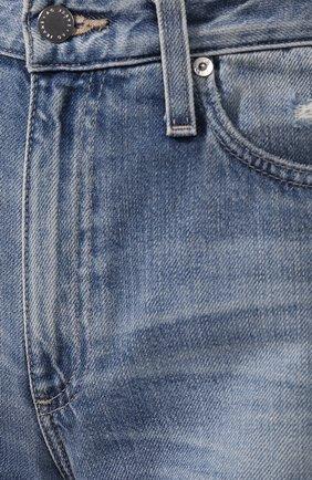 Женские джинсы AG голубого цвета, арт. HRD1899/20YHSU | Фото 5