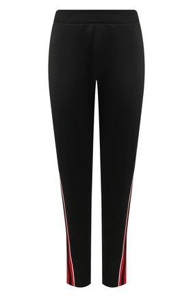 Женские брюки с лампасами ESCADA SPORT черного цвета, арт. 5031112 | Фото 1