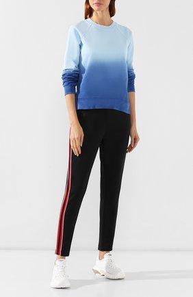 Женские брюки с лампасами ESCADA SPORT черного цвета, арт. 5031112 | Фото 2