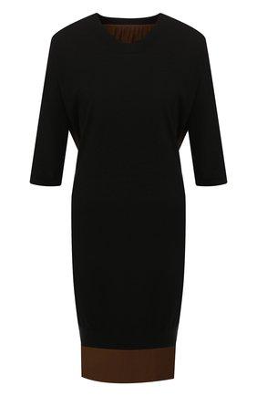 Платье из смеси шелка и кашемира | Фото №1