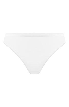 Женские трусы-стринги HANRO белого цвета, арт. 071402 | Фото 1