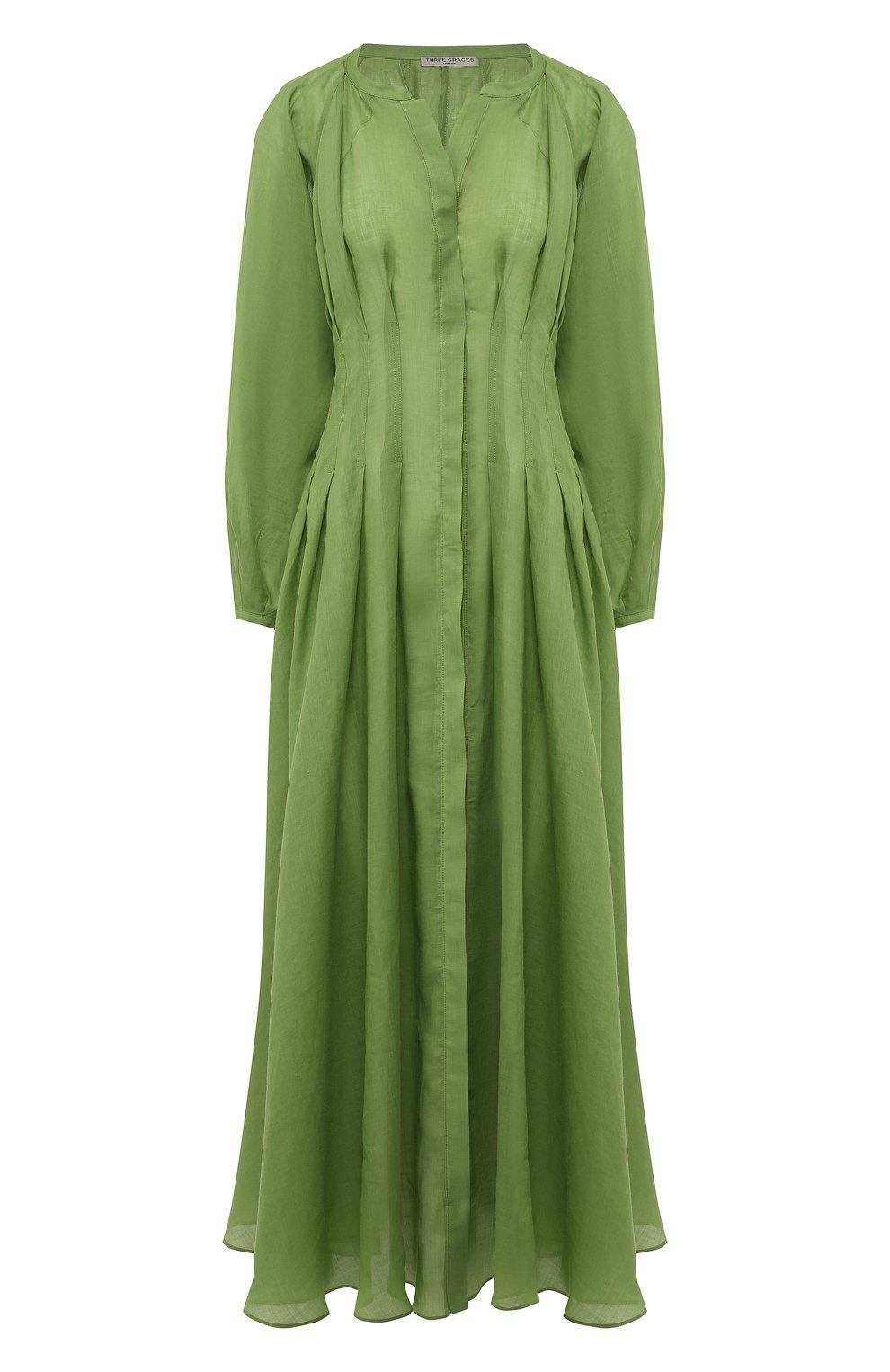 Платье из рами   Фото №1