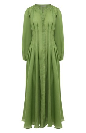 Платье из рами | Фото №1