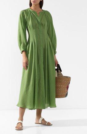 Платье из рами   Фото №2