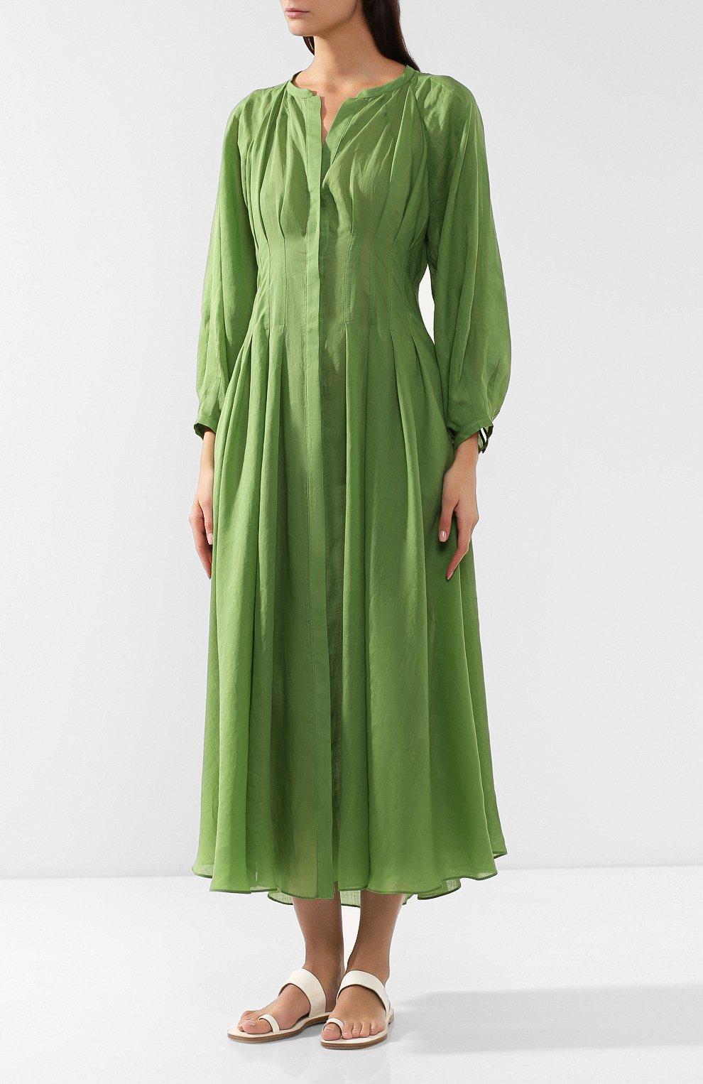 Платье из рами   Фото №3