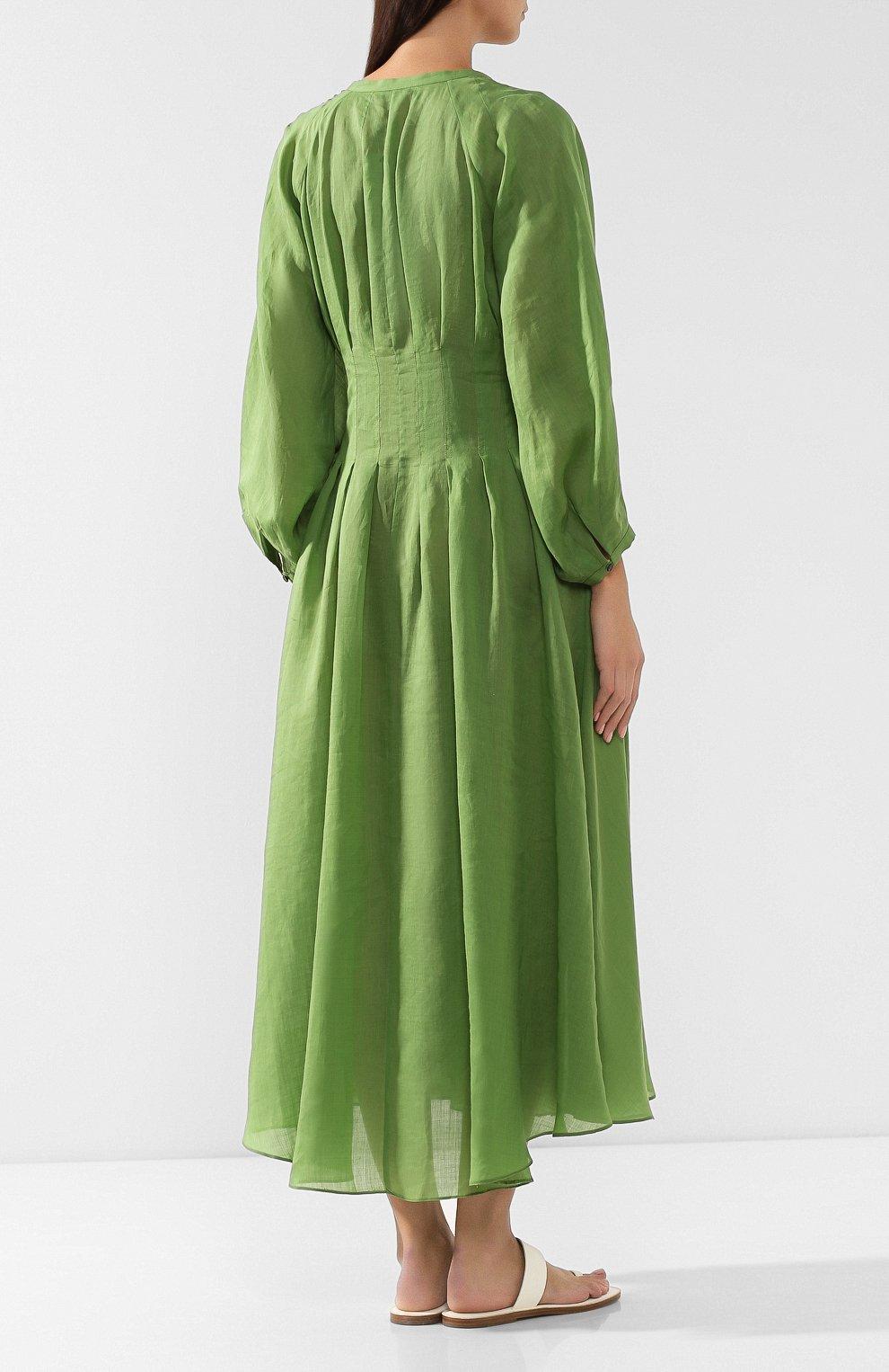 Платье из рами   Фото №4