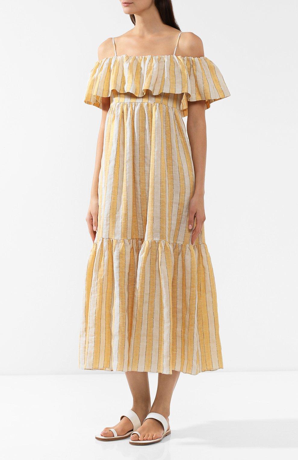 Льняное платье | Фото №3