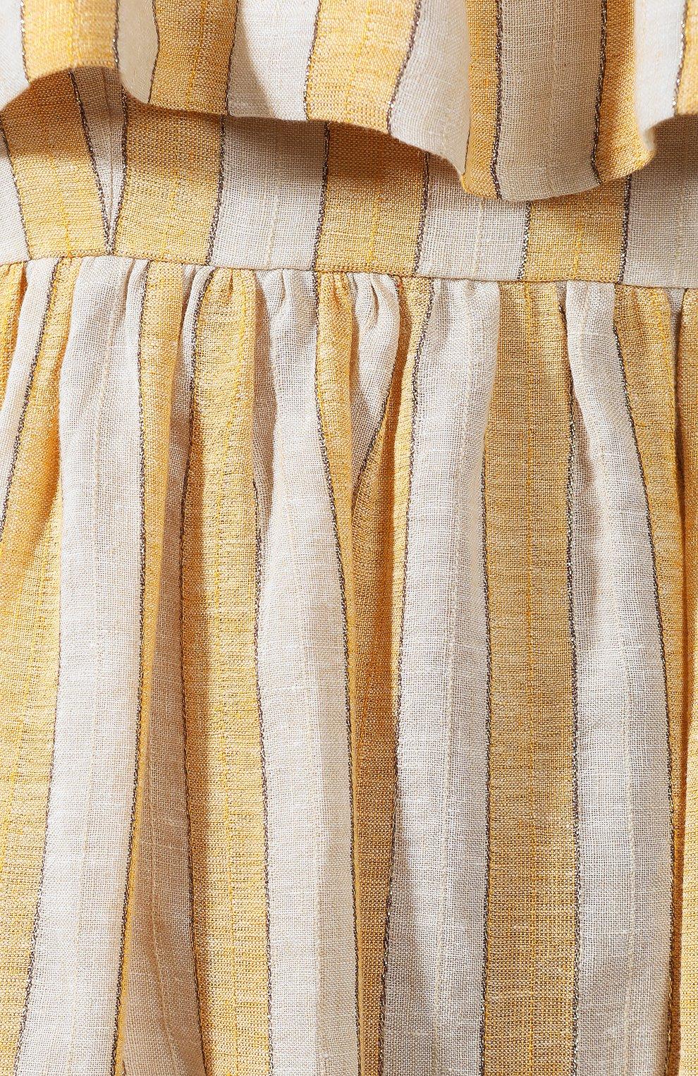 Льняное платье | Фото №5