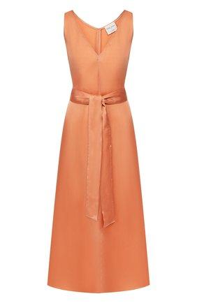 Женское платье с поясом FORTE_FORTE розового цвета, арт. 6544 | Фото 1