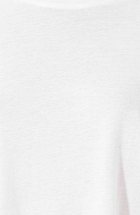 Женская лонгслив из смеси вискозы и хлопка MONROW белого цвета, арт. HT0517CM   Фото 5