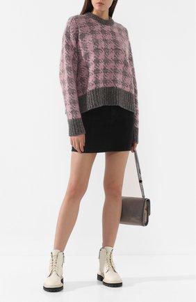 Женская шерстяной свитер JOSEPH розового цвета, арт. JF003344 | Фото 2
