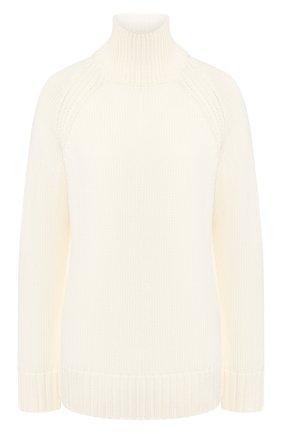 Женская шерстяной свитер JOSEPH белого цвета, арт. JF003336 | Фото 1