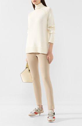 Женская шерстяной свитер JOSEPH белого цвета, арт. JF003336 | Фото 2