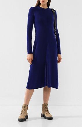 Женское шерстяное платье JOSEPH синего цвета, арт. JF003327 | Фото 2