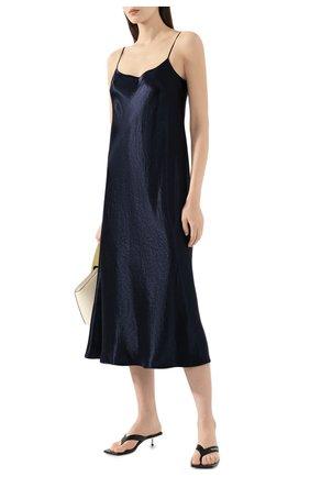 Женское платье VINCE темно-синего цвета, арт. VR68551013 | Фото 2