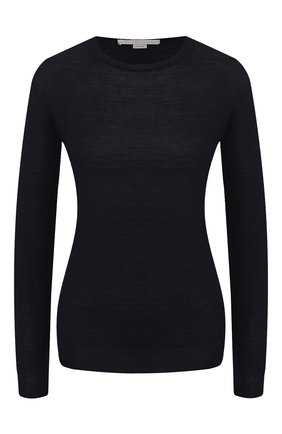 Женский шерстяной пуловер STELLA MCCARTNEY темно-синего цвета, арт. 322182/S1735 | Фото 1