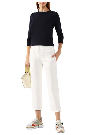 Женский шерстяной пуловер STELLA MCCARTNEY темно-синего цвета, арт. 322182/S1735 | Фото 2