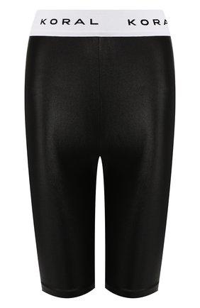 Женские шорты KORAL черно-белого цвета, арт. A2520HS04 | Фото 1