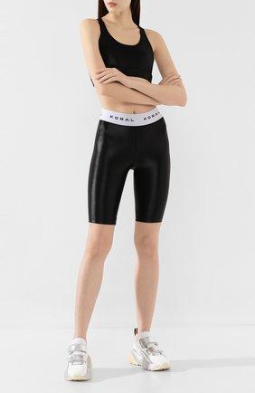 Женские шорты KORAL черно-белого цвета, арт. A2520HS04 | Фото 2