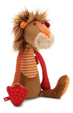 Детского игрушка лев SIGIKID коричневого цвета, арт. 38374 | Фото 1