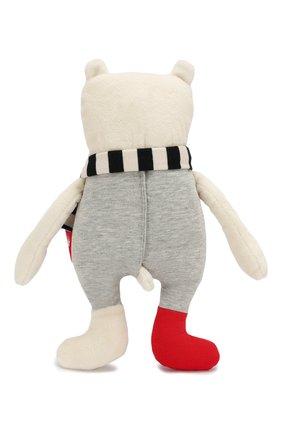 Детского игрушка мишка SIGIKID серого цвета, арт. 39128 | Фото 2
